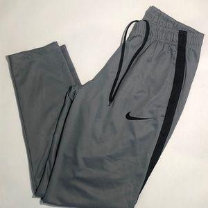Nike Gray & Black Medium M Track Pants Sweatpants